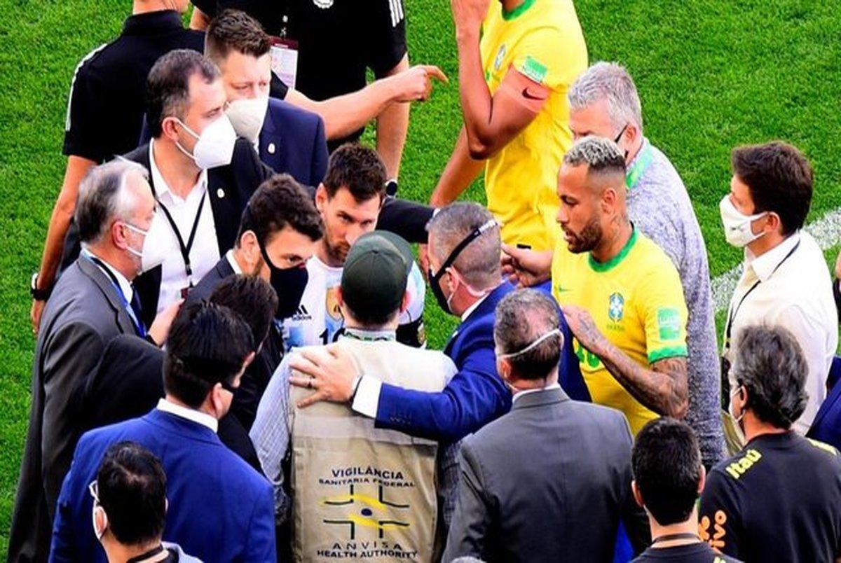 مقصر اتفاقات جنجالی بازی برزیل و آرژانتین کیست؟