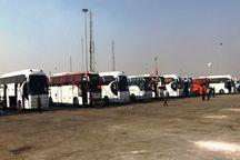 هشت هزار دستگاه اتوبوس زایرین اربعین را جابجا میکنند