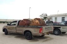 2000 لیتر سوخت قاچاق در مهاباد کشف شد