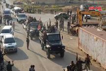 خروج نظامیان آمریکا از الحسکه و ورود ارتش سوریه به قامشلی