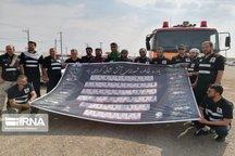 خدماترسانی تیم اعزامی آتش نشانی تهران در چذابه ادامه دارد