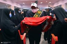 مراسم اهدای 2313 سری جهیزیه به نوعروسان مناطق محروم در جوار حرم امام خمینی(س)