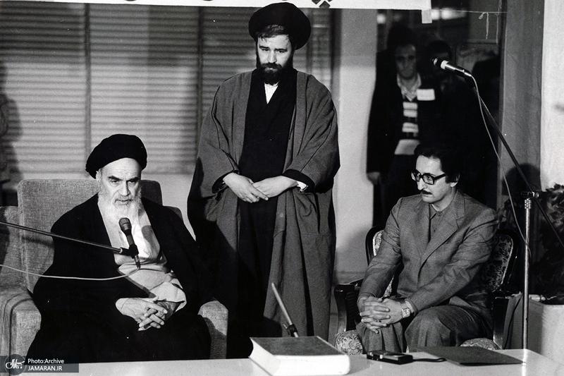 سید ابوالحسن بنی صدر به روایت تصویر