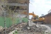 ۳۳ واحد مسکونی و تجاری در همدان تخریب شد