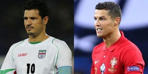 جهان فوتبال در انتظار شکست رکورد دایی توسط رونالدو!