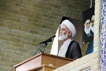 امام جمعه همدان: دشمن در مقابل قدرت ایران عاجز است
