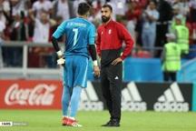 بیرانوند: اگر گل شانسی اسپانیا نبود، تا صبح هم نمیتوانستند گل بزنند