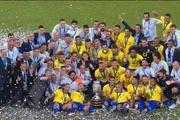 مراسم کامل اهدای مدال و جام کوپا آمریکا به برزیل + فیلم