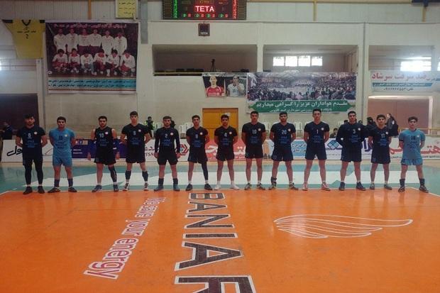 تیم نوجوانان شهرداری ارومیه به نیمه نهایی لیگ کشور راه یافت