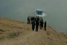 سد خاکی شاکین  تاکستان آبگیری شد