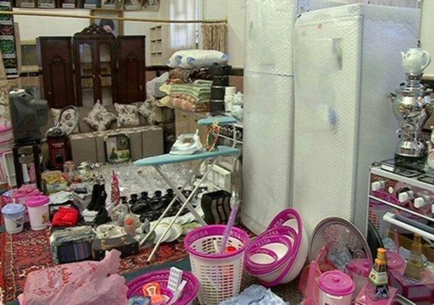یکهزار جهیزیه به زوج های جوانان استان تهران اهدا شد