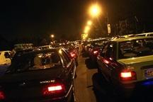 ترافیک در ورودی و خروجی های مشهد پرحجم است