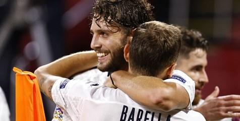 برد شیرین ایتالیا در مقابل هلند