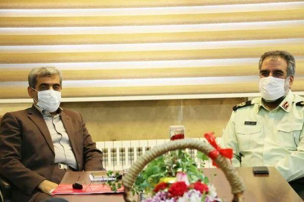 فرمانده نیروی انتظامی البرز: جهاد معلمان تحسین برانگیز است