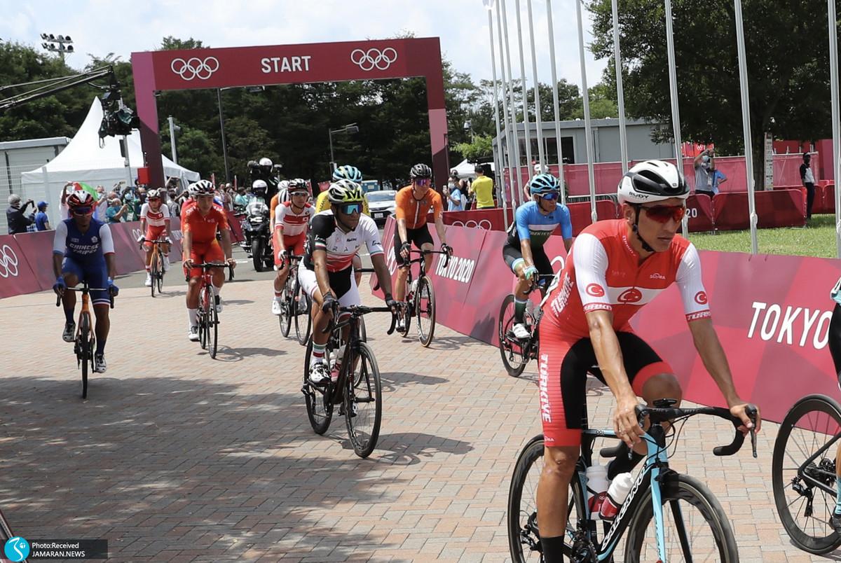 رکابزن المپیکی ایران دوچرخه را برد و پس نداد!