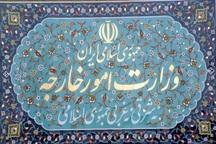 واکنش وزارت امور خارجه به یک ادعای نادرست در مورد جلسه ظریف با هانت