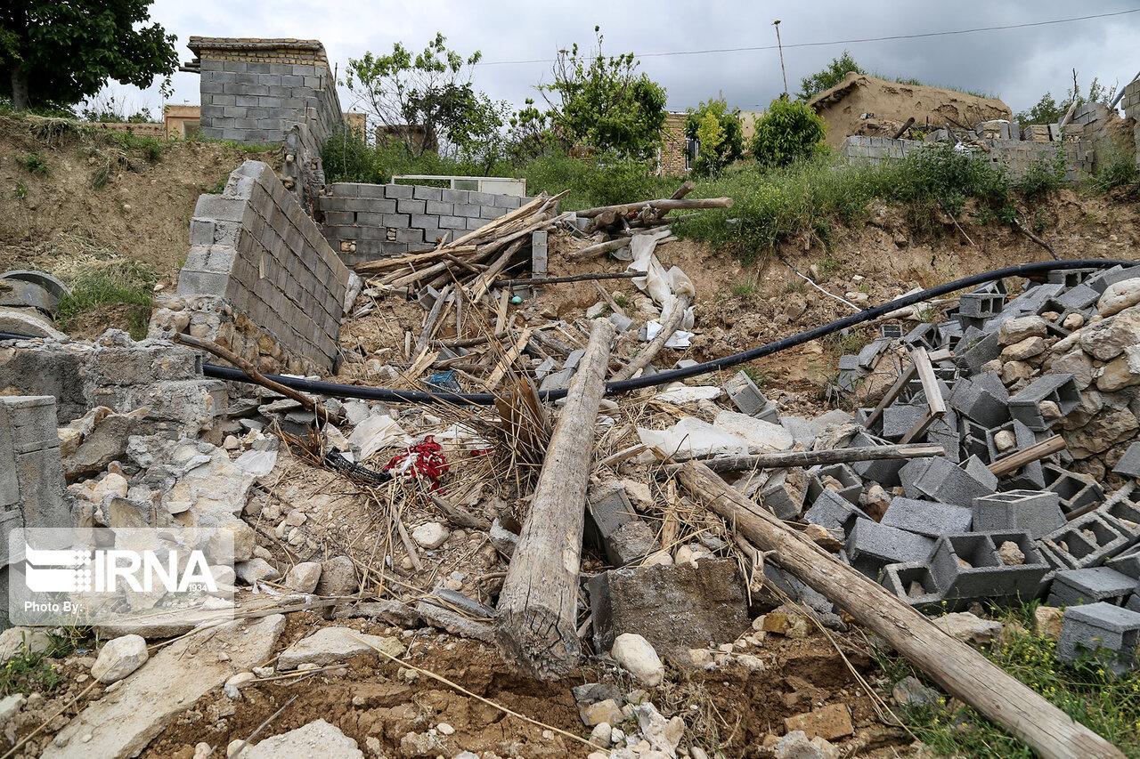 منازل آسیب دیده از رانش زمین در خراسان شمالی باید جابهجا شوند