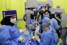 انجام نخستین عمل جراحی چشم در سردشت