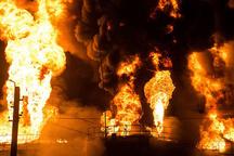 آتش سوزی در ساختمان دانشگاه پیامنور اوز لارستان