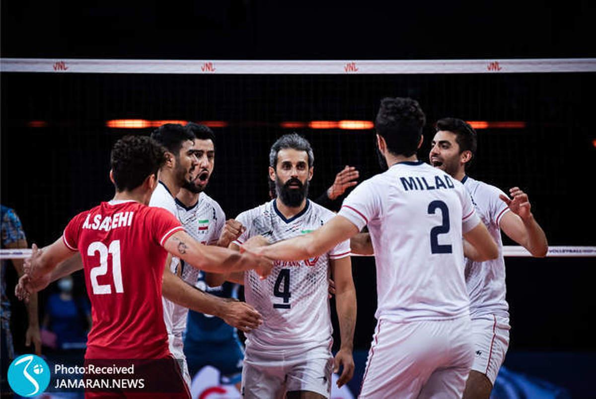 دوازدهمی ایران در لیگ ملت های والیبال/ کابوس ریمنی تمام شد