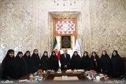 دیدار فراکسیون زنان مجلس با علی لاریجانی + عکس