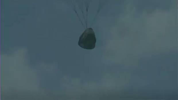 بازگشت فضاپیمای اسپیس ایکس از فاصله ۵۷۵ کیلومتری زمین