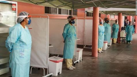 شناسایی دو نفر در برزیل با ابتلای همزمان به دو واریانت ویروس کرونا