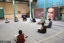 محفل انس با قرآن دانش آموزی در حسینیه جماران