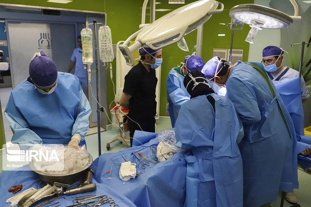 اعضای بدن بیمار مرگ مغزی در مشهد جان سه نفر را نجات داد
