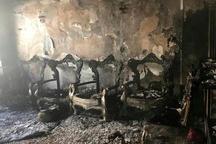آتشسوزی مجتمع مسکونی در شیراز