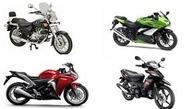 قیمت انواع موتورسیکلت در سوم مهر + جدول