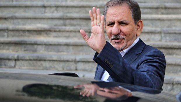 معاون اول رئیس جمهوری سمنان را به مقصد تهران ترک کرد