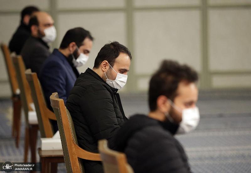 دیدار خانواده شهید حاج قاسم سلیمانی و دستاندرکاران مراسم سالگرد ایشان با رهبر معظم انقلاب