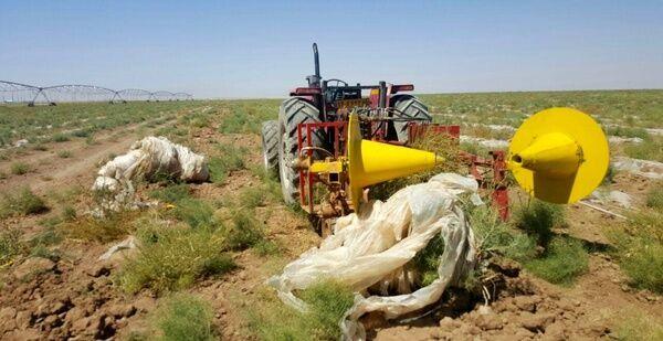 استقاده از مالچ پلاستیکی در مزارع کشاورزی قزوین مدیریت شود