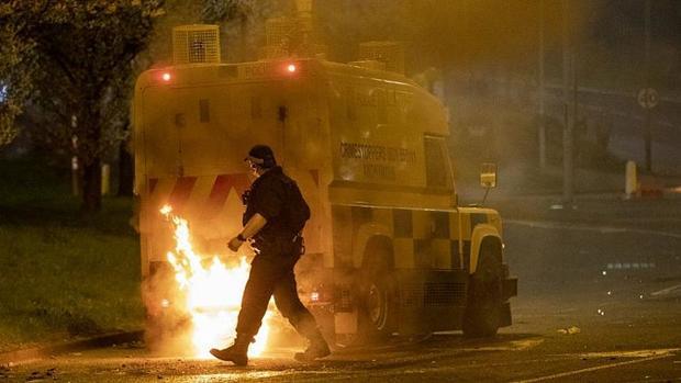 شورش در ایرلند شمالی به دلیل پیامدهای خروج انگلیس از اتحادیه اروپا