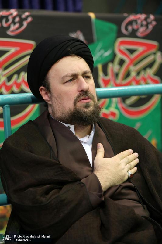 .مراسم عزاداری اربعین حسینی در حسینیه جماران
