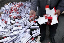 2 هزار بسته تنباکوی قاچاق در زنجان کشف شد