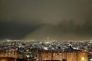 آخرین خبر از طوفان تهران + تصاویر