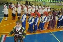 اولین جشنواره ورزش و کودک در قیامدشت برگزار شد