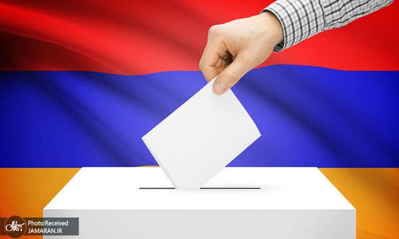 انتخابات زودهنگام ارمنستان+ تصاویر
