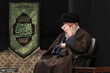 مراسم عزاداری رحلت رسول اکرم(ص) و شهادت امام حسن مجتبی(ع) با حضور رهبر معظم انقلاب
