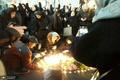 تجمع اعتراضی مقابل دانشگاه امیرکبیر