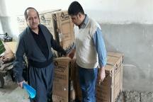 234 دستگاه بخاری گازسوز بین نیازمندان سردشت توزیع شد