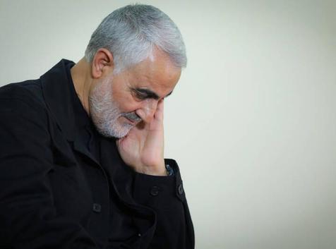 من پاسدار قاسم سلیمانی عضو سپاه پاسداران کرمان