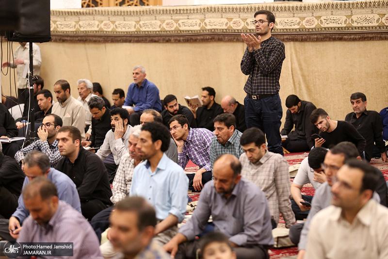احیای شب نوزدهم ماه مبارک رمضان در مسجد جامع امام حسین(ع) - ابوترابی فرد