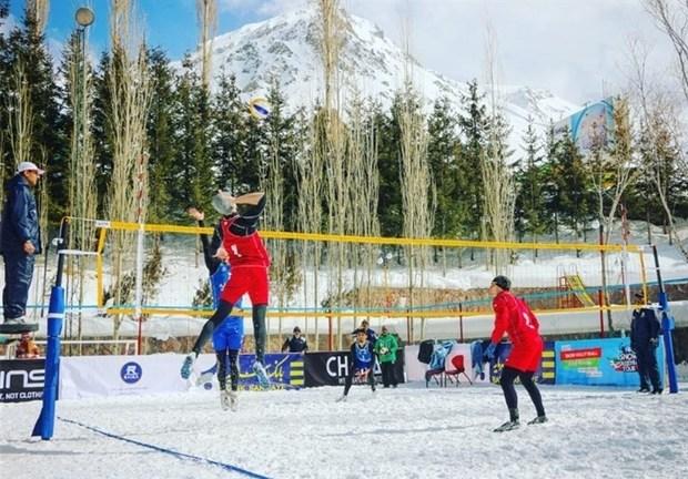 مسابقات باشگاهی والیبال برفی کشور به میزبانی البرز آغاز شد