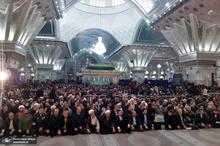 مراسم بزرگداشت ۱۲ بهمن در حرم امام خمینی (س) با حضور پرشور و گسترده اقشار مردم