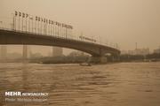 گرد و خاک امروز خوزستان را فرا می گیرد  کاهش دید افقی