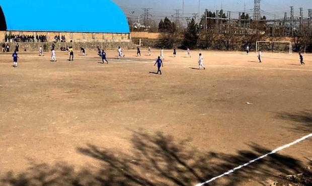 مسابقات فوتبال حاشیه شهر مشهد پایان یافت