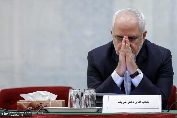 روشنگری ظریف در مورد فایل صوتی خود و معذرت خواهی وی از مردم و خانواده شهید سلیمانی